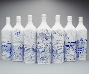 Johnnie Walker x Chris Martin Porcelain Bottles