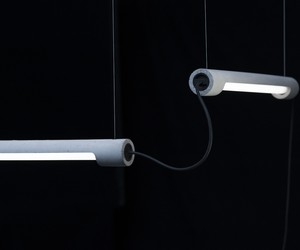 amazing concrete lamps with app control