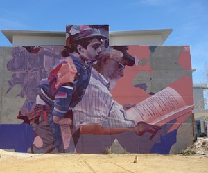 """Life of a Story"" - Mural by Artists TELMO MIEL"