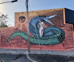 """""""Lilith""""  - New Mural by Alexis Diaz In Miami"""