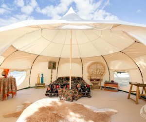 Luxurious Camping: Lotus Belle Tents