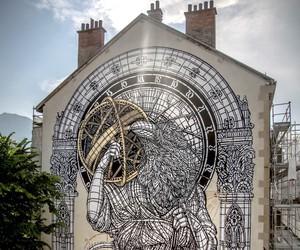 """Massive Mural by Urban Artists """"Monkeybird"""""""
