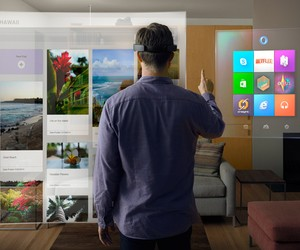 Microsoft unveils Holographic Future with HoloLens
