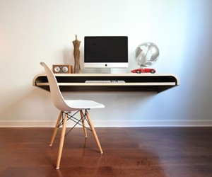 Minimal Floating Wall Desk