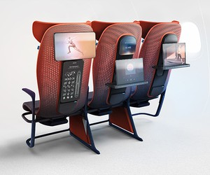 Layer x Airbus Move Smart Seating