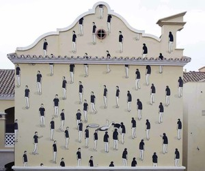 Moroccan Street Art Mural by Escif