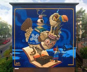 """""""Northern Delights"""" by Artist Dulk in Finland"""