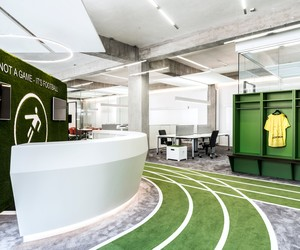 Fancy Football? Onefootball's Office by TKEZ