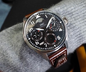 Wearing the all new IWC Pilot's watches