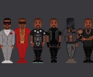 8Bit-Rapstars illustrated by UK Artist A.Mulli