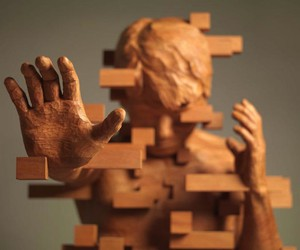 Wooden Sculptures by Artist Hsu Tung Han