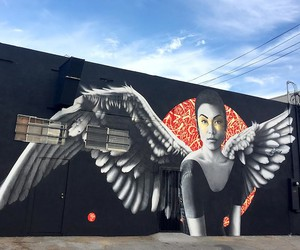 """Resurrection of Angels 2"" by Fin DAC in LA"