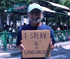 Homeless People share Things about Themselves