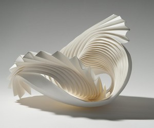 PAPER SCULPTURES BY RICHARD SWEENEY