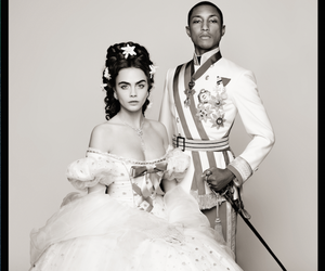 CARA DELEVIGNE AND PHARRELL WILLIAMS for CHANEL