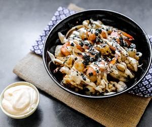 Seafood Teppanyaki with Yum Yum Sauce