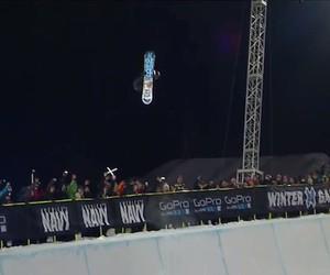 Snowboarding: Shaun White wins Snowboard SuperPipe