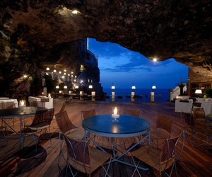 Grotta Palazzese in southern Italy