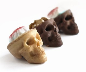 Chocolate Skulls Gone Nuts