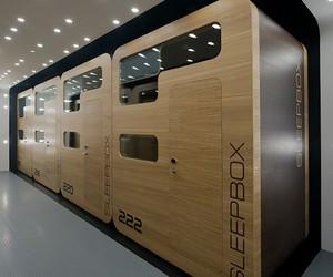 Sleepbox Hotel Pods Near Moscow's Railway