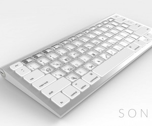 World's First E-ink Keyboard with built-in light
