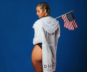 Model Sydney Maler Celebrates Independence Day