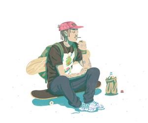 Streetwear Fashion by Illustrator Jeff Östberg