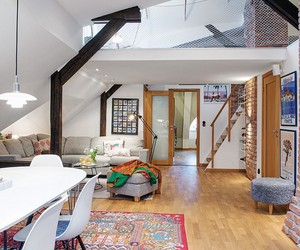 beautiful attic in-the center of gothenburg
