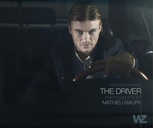 The Driver by Mathieu Maury for Whitezine