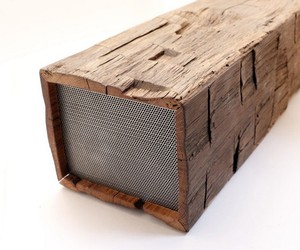 The BeamBox. Reclaimed Wood & Modern Tech
