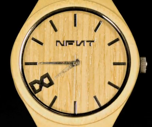 The Big Face Woody Watch – Natural Bamboo