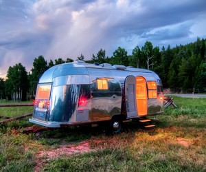 1954 Orvis Airstream Trailer