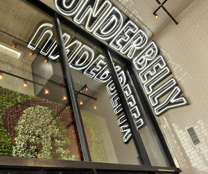 Sleek UnderBelly Ramen Restaurant