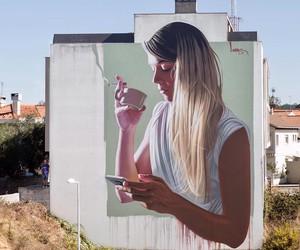 """Vices"" Mural by Street Artist Lonac in Portugal"