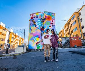 Ultra-Colorful Mural by Zosen Bandido & Mina Hamad