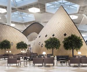 Azerbaijan's Shapely New Airport Terminal