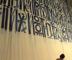 Streetart: Retna – Creating The Unconventional