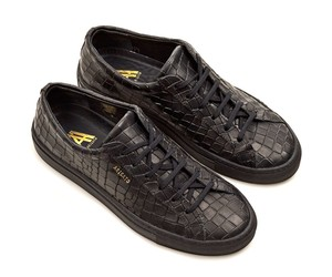 Axel Arigato Alligator Embossed Low Sneakers
