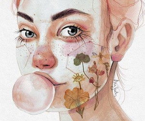 the watercolors of Ana Santos