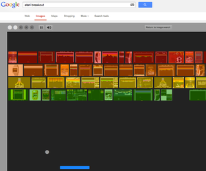 Atari's Breakout on Google Image Search