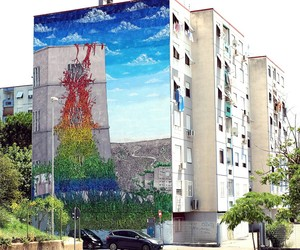 New Largescale Mural from Blu in Rome // Italy