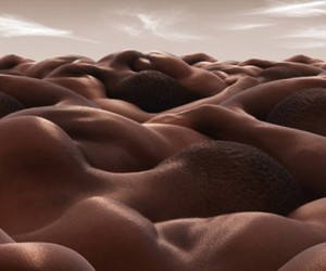 Bodyscapes Photography by Carl Warner