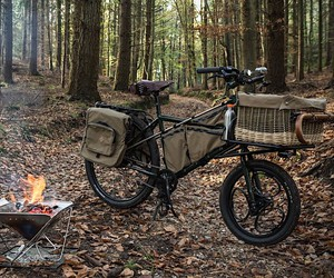 The Forager Bike is the perfect bike for camping