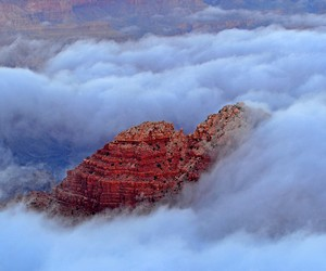 Clouds in Grand Canyon National Park