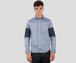 CASH CA Panel Sleeve Shirt - The Next Door