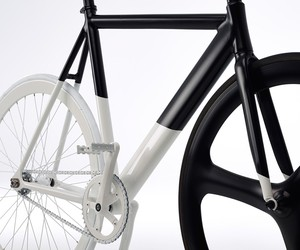 Eltipo Graphic's Balck-White Fixie Bicycle