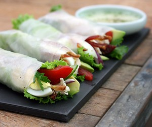 Cobb Salad Summer Rolls
