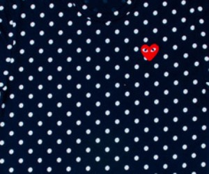 Comme des Garcons PLAY Polka Dot & Striped