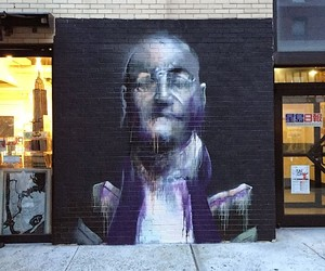 New Murals by Conor Harrington for L.I.S.A.