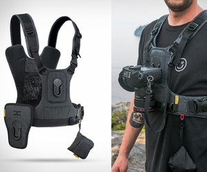 Cotton Camera Harness